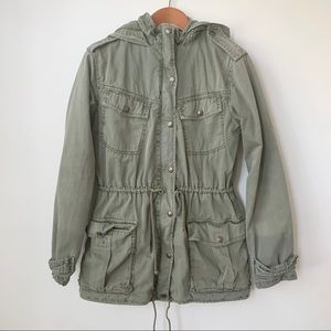 ARITZIA | THICK TALULA TROOPER ANORAK ARMY JACKET
